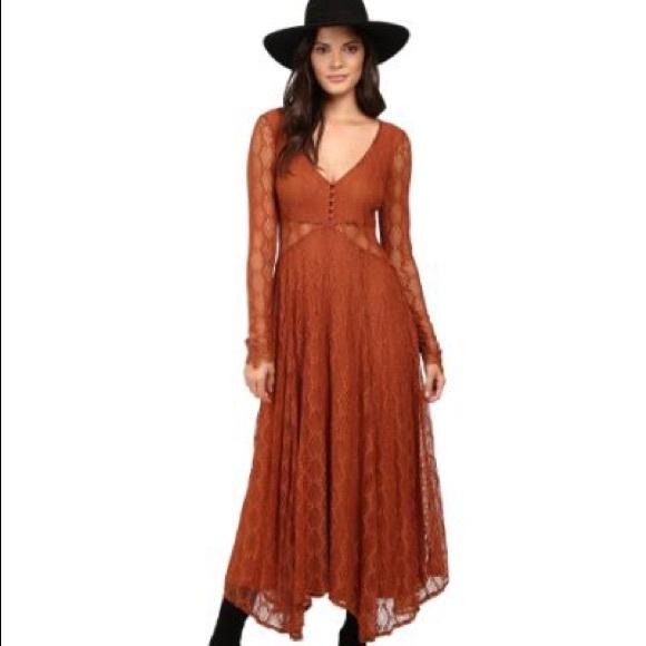 6e5dd54859d Free People Lace Maxi Dress